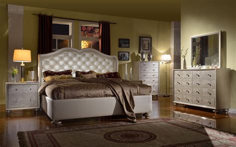 cream bedroom set mcferran furnishing b1700 manhattan 4 piece cream bedroom set