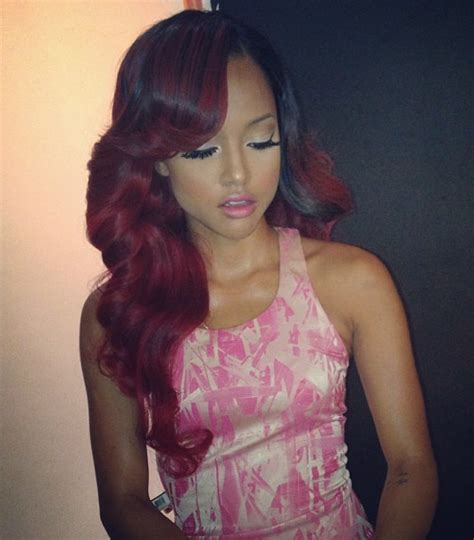 karrueche hair color karrueche tran copying rihanna fans react after chris