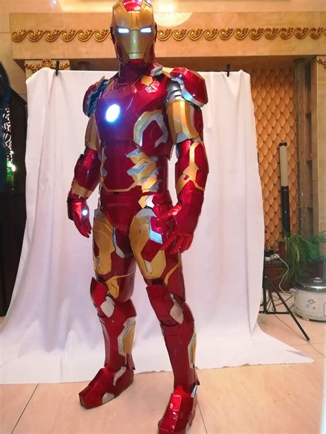 iron man mk suit iron man cosplay costume wearable