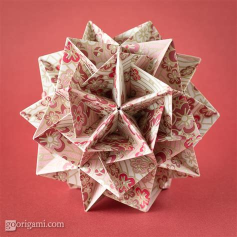 Origami China - boat modules frosty by tomoko fuse go origami