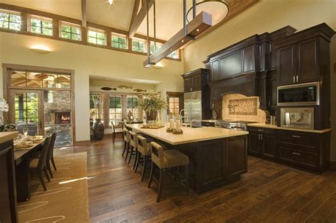 Kitchen Great Room Designs Kitchen Open To Great Room Traditional Kitchen Seattle By G3 Development Inc