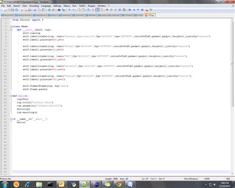 format email python user interface how to put output of python code in the