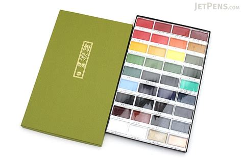 Kuretake Gansai Tambi Watercolor 18 Color kuretake gansai tambi watercolor palette 36 color set jetpens