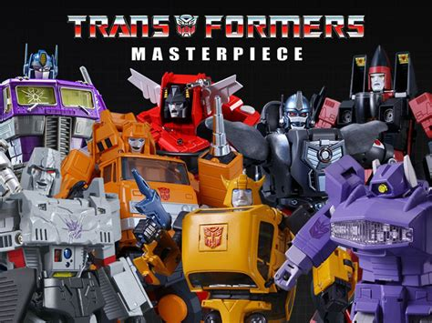 Transformers Masterpiece Toys by Transformers Figures Transformers Toys