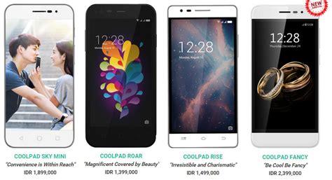 Hp Xiaomi Dari Termurah Sai Termahal daftar harga hp android coolpad terupdate desember 2016 panduan membeli