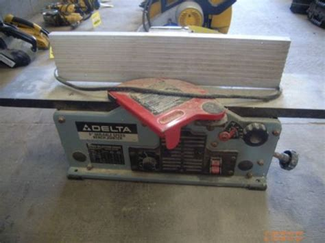 delta 6 bench jointer delta 6 quot variable speed bench jointer