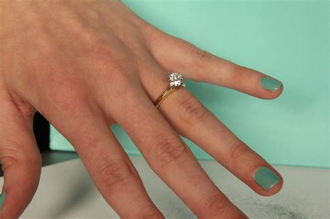 gold wedding rings engagement rings which which finger