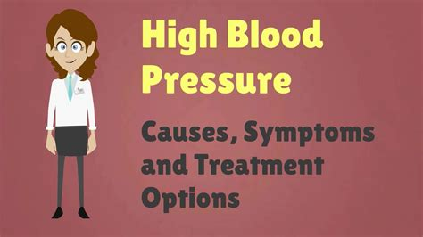 High Blood Pressure   Causes, Symptoms and Treatment Options   YouTube