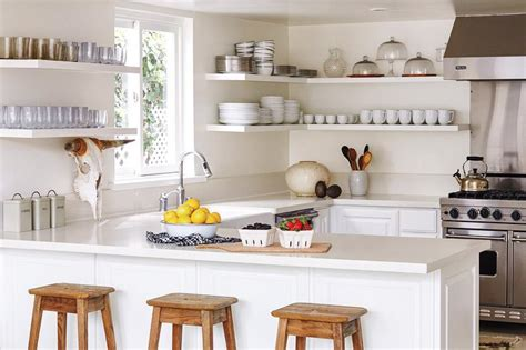 kitchen shelfs wraparound kitchen shelves design ideas