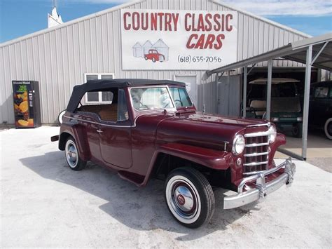 willys jeepster for sale 1950 willys jeepster for sale 1851143 hemmings motor news