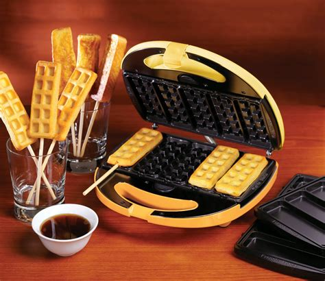 Portable Sandwich Toaster Waffle And French Toast Sticks Breakfast Treats Maker