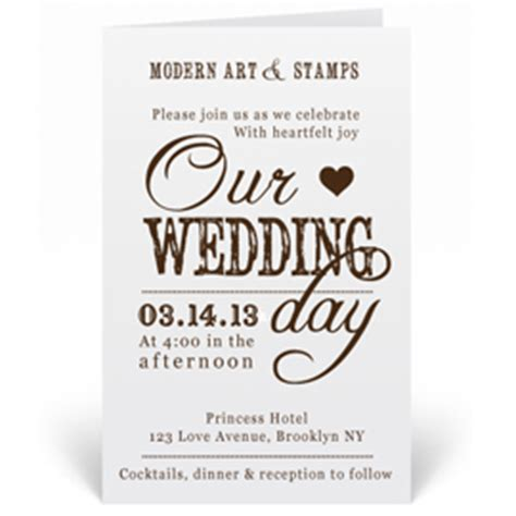 menu rubber sts rubber st wedding invitation wedding invitation ideas