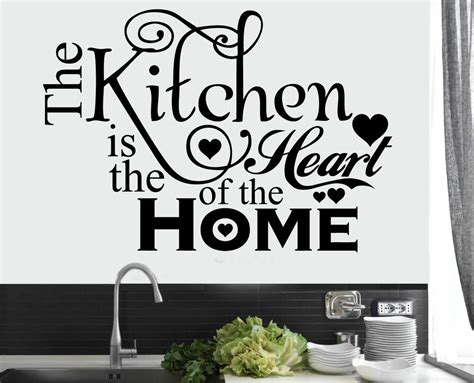 home wall decor stickers kitchen home quote wall stickers dining room