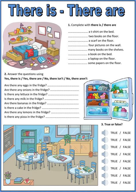 A Place No Dialogue There Is There Are Interactive Worksheet