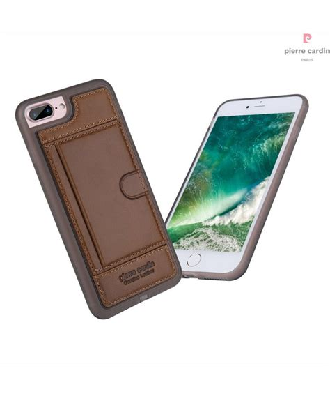 Iphone 7 Plus Motif Kulit Silicon Leather Back Soft Cover Casing cardin silicon back cover for iphone 7 plus iph7p