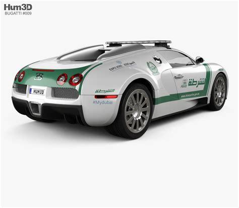 police bugatti bugatti veyron police dubai 2014 3d model humster3d