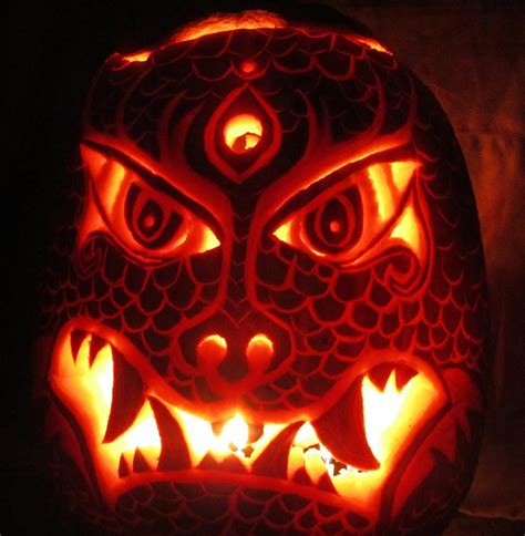 scary pumpkin designs 50 best scary pumpkin carving ideas images