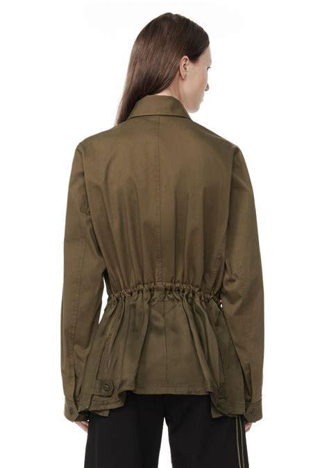 Jaket Parka Cotton Twill cotton twill combo parka jackets and outerwear