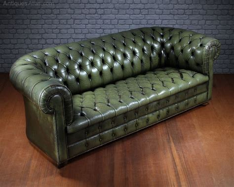 Vintage Leather Chesterfield Sofa Antiques Atlas Vintage Leather Chesterfield Sofa