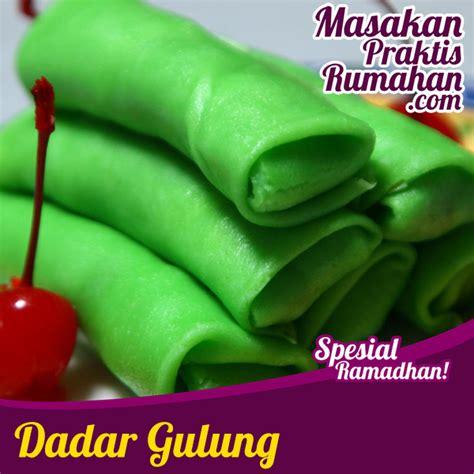 Teflon Untuk Dadar Gulung dadar gulung resep masakan praktis rumahan indonesia