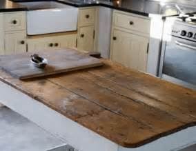Wood Kitchen Countertops by Reclaimed And Rustic Make Your Kitchen Stand Out By