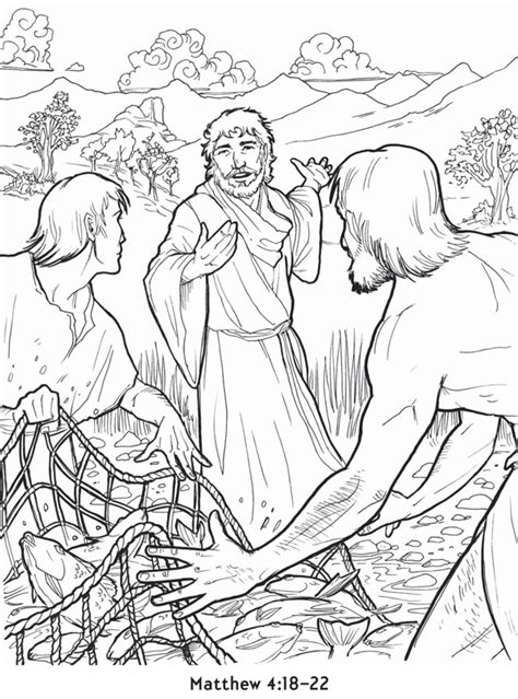 jesus and disciples coloring page coloring pages