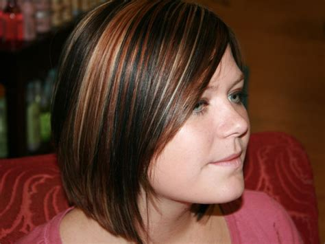 short hairstyles with brown hair and highlights highlights brown hair highlight styles for short girls