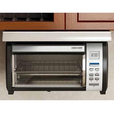 black and decker under cabinet toaster oven toaster oven choices