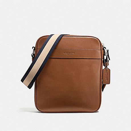 Coach Flightbag Saddle coach f54782 charles flight bag in smooth leather