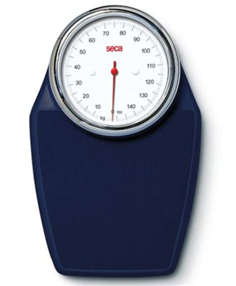 Mechanical Bathroom Scales by Seca 760 Colorata Mechanical Bathroom Scale Midnight Blue