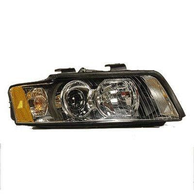 2003 audi a4 headlight replacement 2003 audi a4 right passenger side replacement headlight