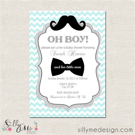 free mustache baby shower invitation templates theme baby shower invitations
