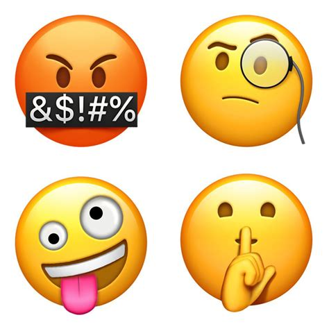 apple emoji say hello to apple s new ios 11 emoji