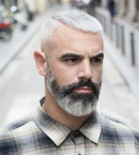 facial hair styles for older men with graying hair 282 best images about beard hairstyle on pinterest