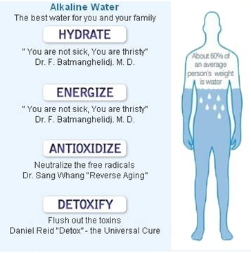 Does Alkaline Water Detox Your by The 5 Major Benefits Of Alkaline Water White Water