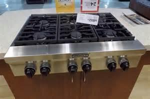 Range Top Kitchenaid 36 Quot Gas Rangetop Review Rating Kgcu467vss