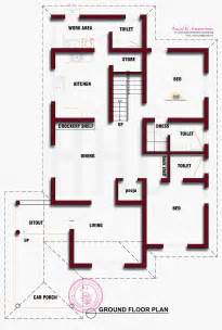 beautiful kerala house photo with floor plan kerala home