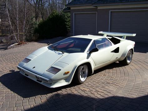 Lamborghini 1980s 1980 Lamborghini Countach Lp4000 S