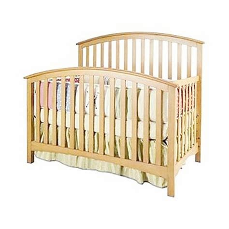Bassett Convertible Crib Mission 4 In 1 Convertible Crib 5091 0521 By Bassett Baby Baby Cribs At