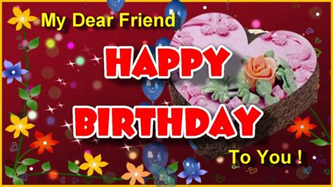 happy birthday greeting cards to best friend happy birthday to you birthday greeting card for dear