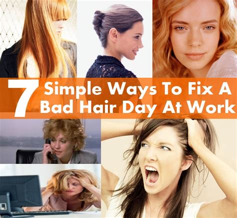 Ways To Fix A Bad Day by 7 Amazingly Easy And Simple Ways To Fix A Bad Hair Day At