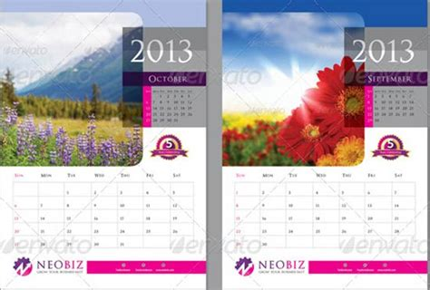 35 best free 2013 calendar template download