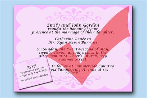 Wedding Invitations Writing by 3 Easy Ways To Write Wedding Invitations With Pictures