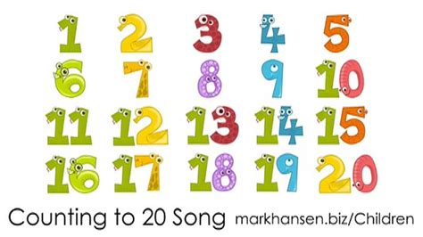 counting song counting numbers www pixshark images galleries