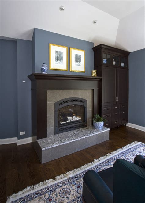 master bedroom fireplace built ins traditional bedroom chicago by great rooms