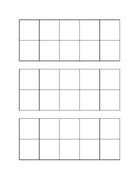 ten frame template printable frames frame template and ten frames on