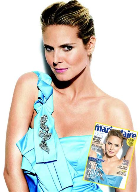 Heidi From The Spreads It For Stuff Magazine And Boy Is Spencer Pleased by Heidi Klum Spread For Zeitt Magazine