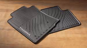 Tacoma Floor Mats For Sale Genuine Toyota All Weather Floor Mats For 2008 2011 Tacoma