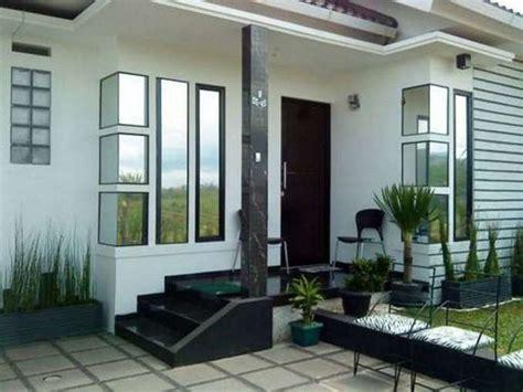 inspirasi model teras rumah kecil minimalis rumahmi