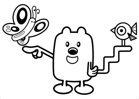 Wubbzy Coloring Pages coloring pages wow wow wubbzy coloring pages